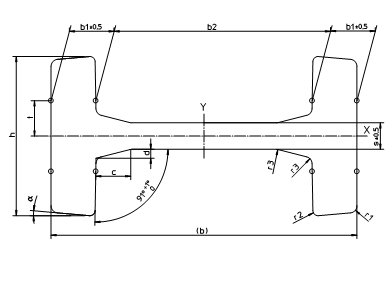 Mast Sections H-STEEL CLIK